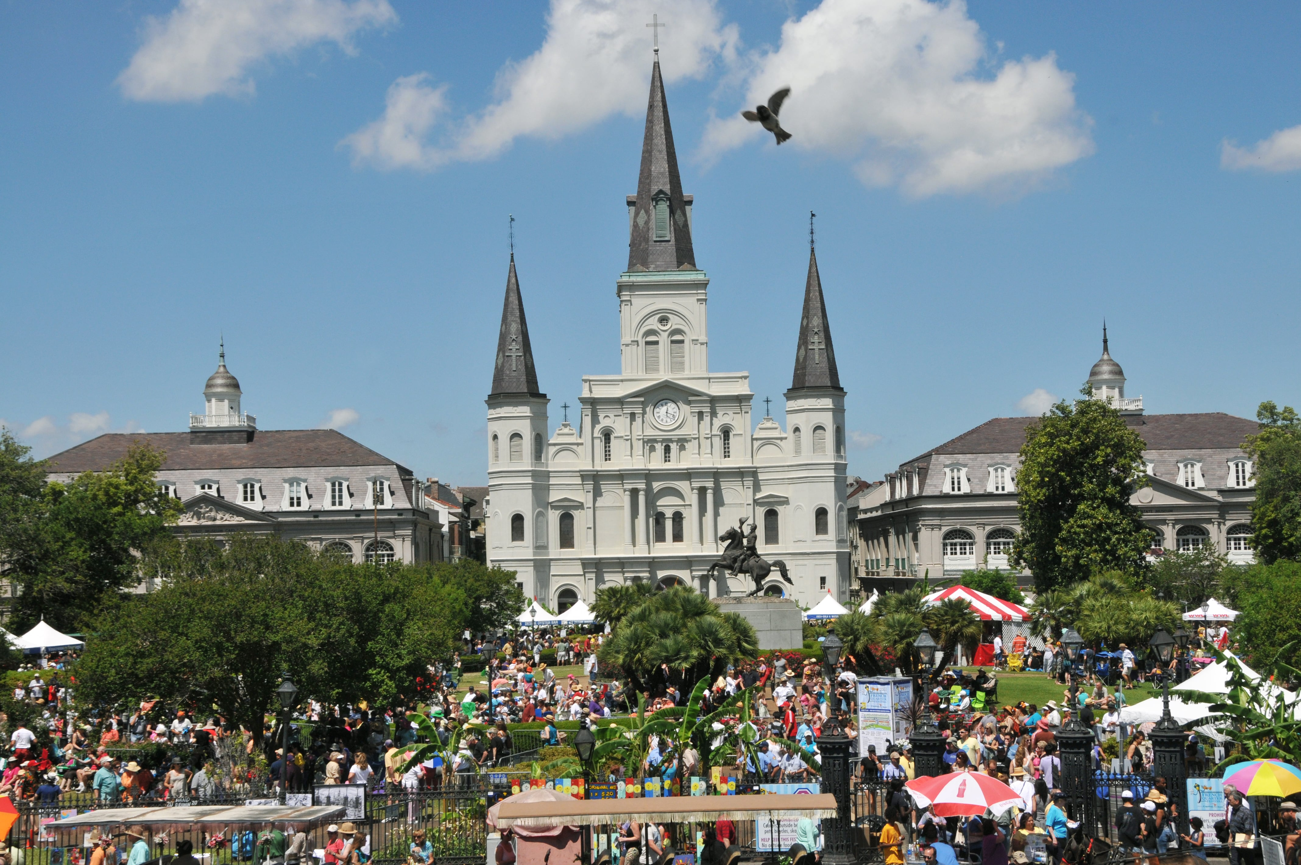 An image of Jackson Square in New Orleans, LA